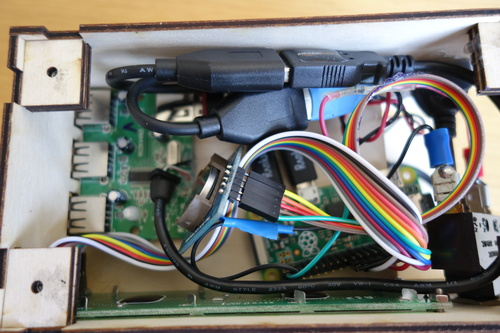 Data collection box innards